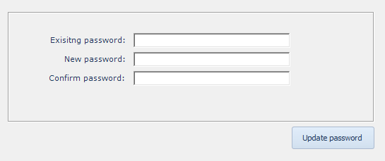 CBM-Calculator-Change-Password